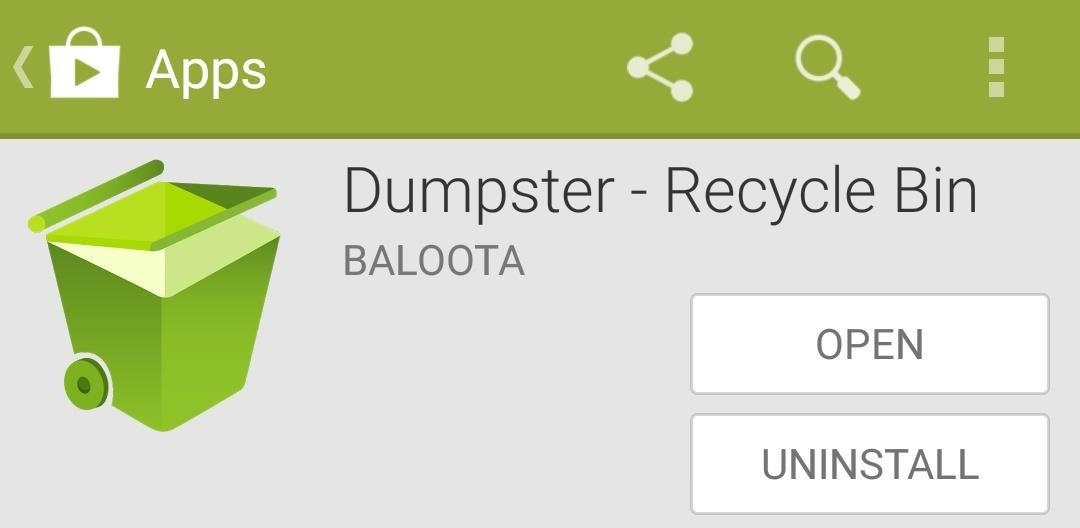"How to Add a ""Recycle Bin"" to Your Nexus 5 for Easier File Recovery"