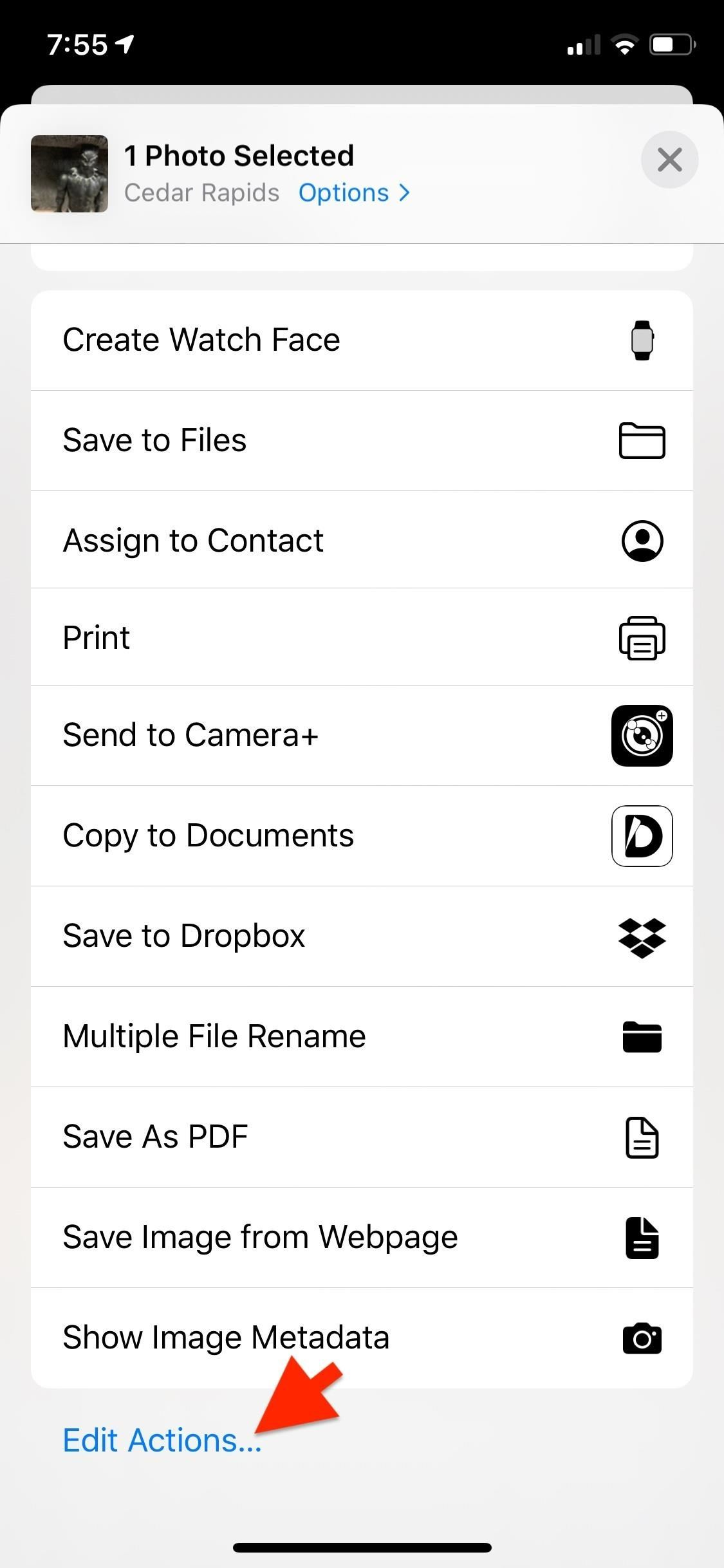 How to Add Custom Shortcuts to Your iPhone's Share Sheet & Reorganize Them for Quicker Access