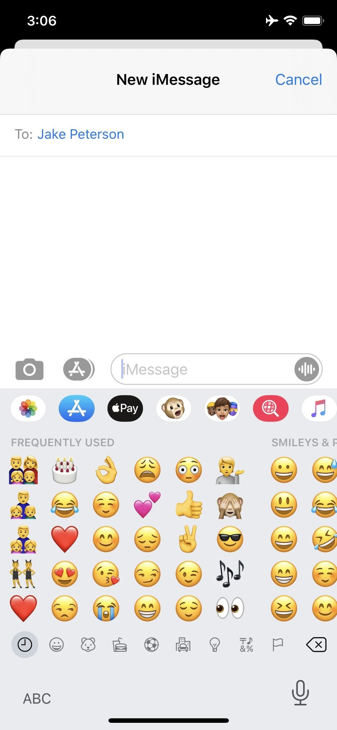 Finally there is a way to disable the annoying Memoji stickers in messages on the iPhone