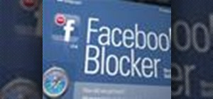 Block Facebook links on any website