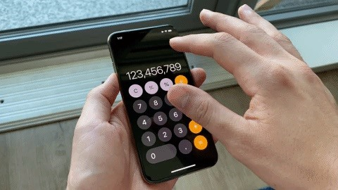 The Hidden Way to Delete Numbers on Your iPhone's Calculator