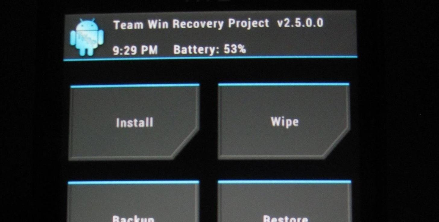 How to Root Your HTC EVO 4G LTE Using TWRP & SuperSU « Android