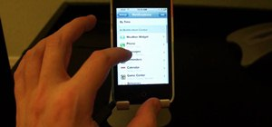 Setup and use Notification Center on an iOS 5 device