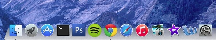 Get the Transparent 3D Dock Back in Mac OS X Yosemite