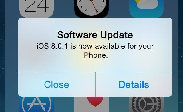 Fix Cell Service & Touch ID After Installing the iOS 8.0.1 iPhone Update