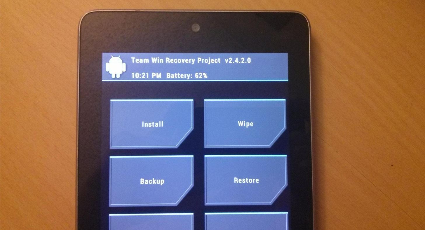 The Definitive Guide to Backing Up Your Nexus 7 Tablet