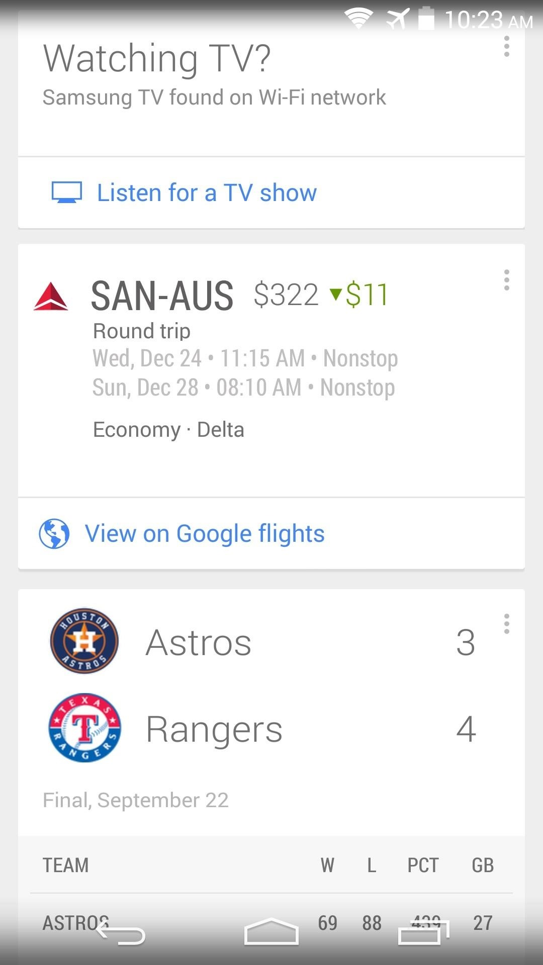 How to Enable Experimental Cards in Google Now for Android