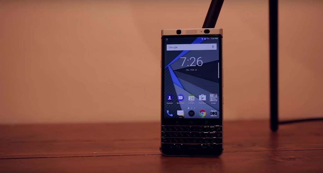 BlackBerry KeyOne Launch Date Pushed Back