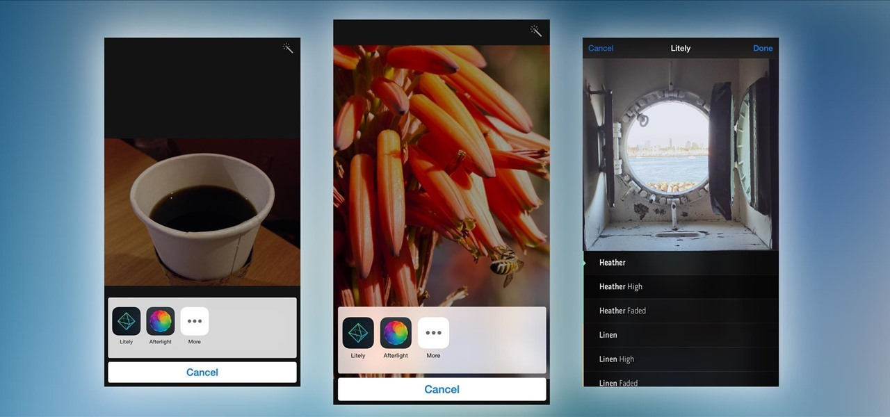 Edit Your iPhone Pics Using Third-Party Editing Tools in iOS 8's Stock Photos App