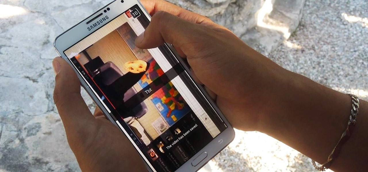 Secretly Save Pics & Videos on the Newest Snapchat with Your Galaxy Note 3