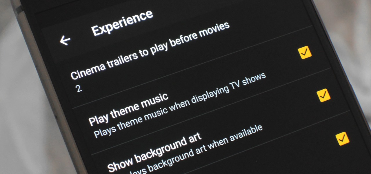 Plex 101: How to Play Trailers Before Your Movies