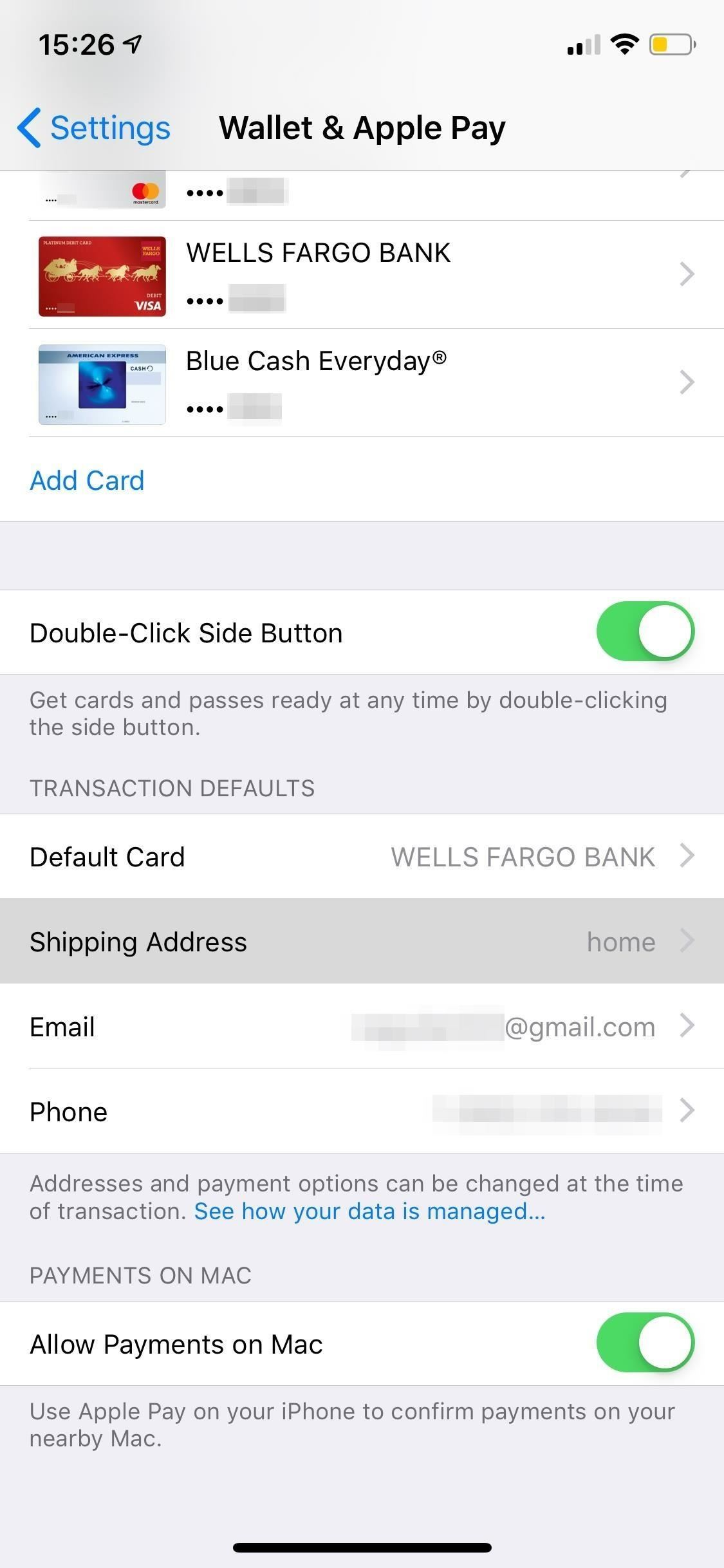 How To Change Your Billing Shipping Address For Apple Pay On Your Iphone Ios Iphone Gadget Hacks