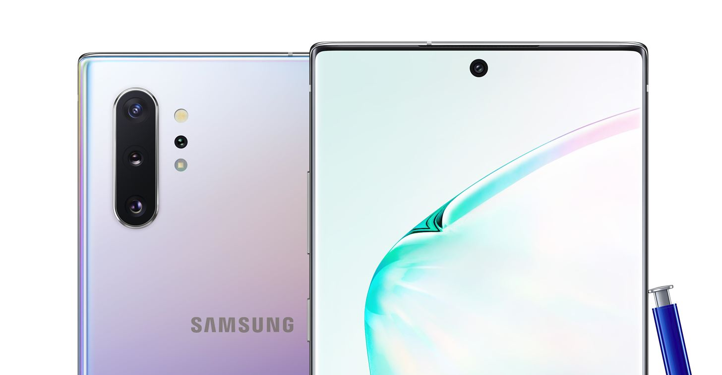 Galaxy Note 10+ Hands-on Review & Spec Sheet Overview