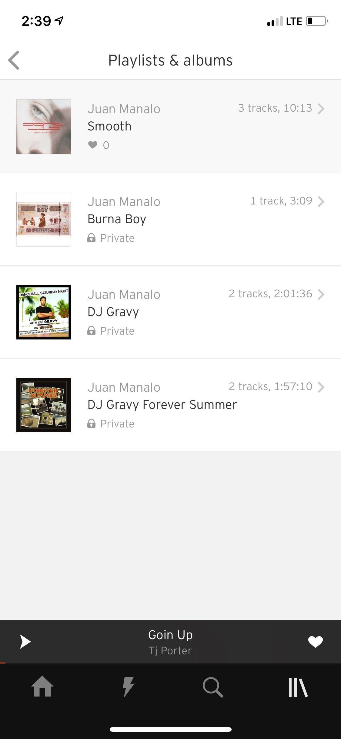 Create playlists in SoundCloud for Organize your music