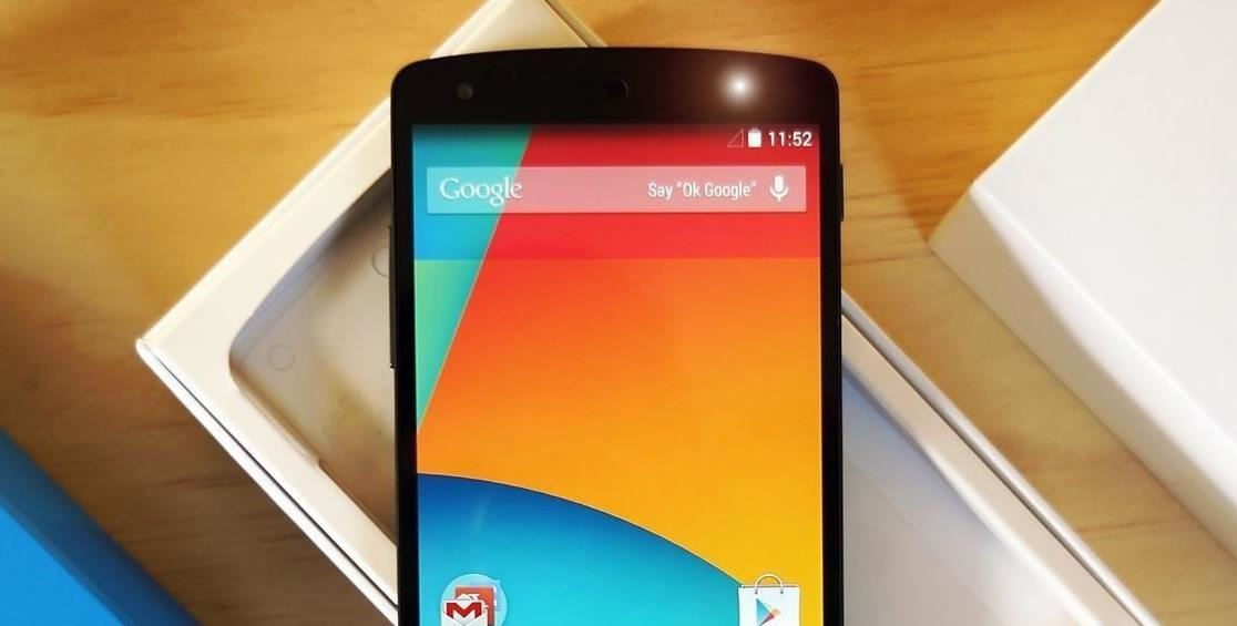 How to Control Your Nexus 5 Without Touching the Screen