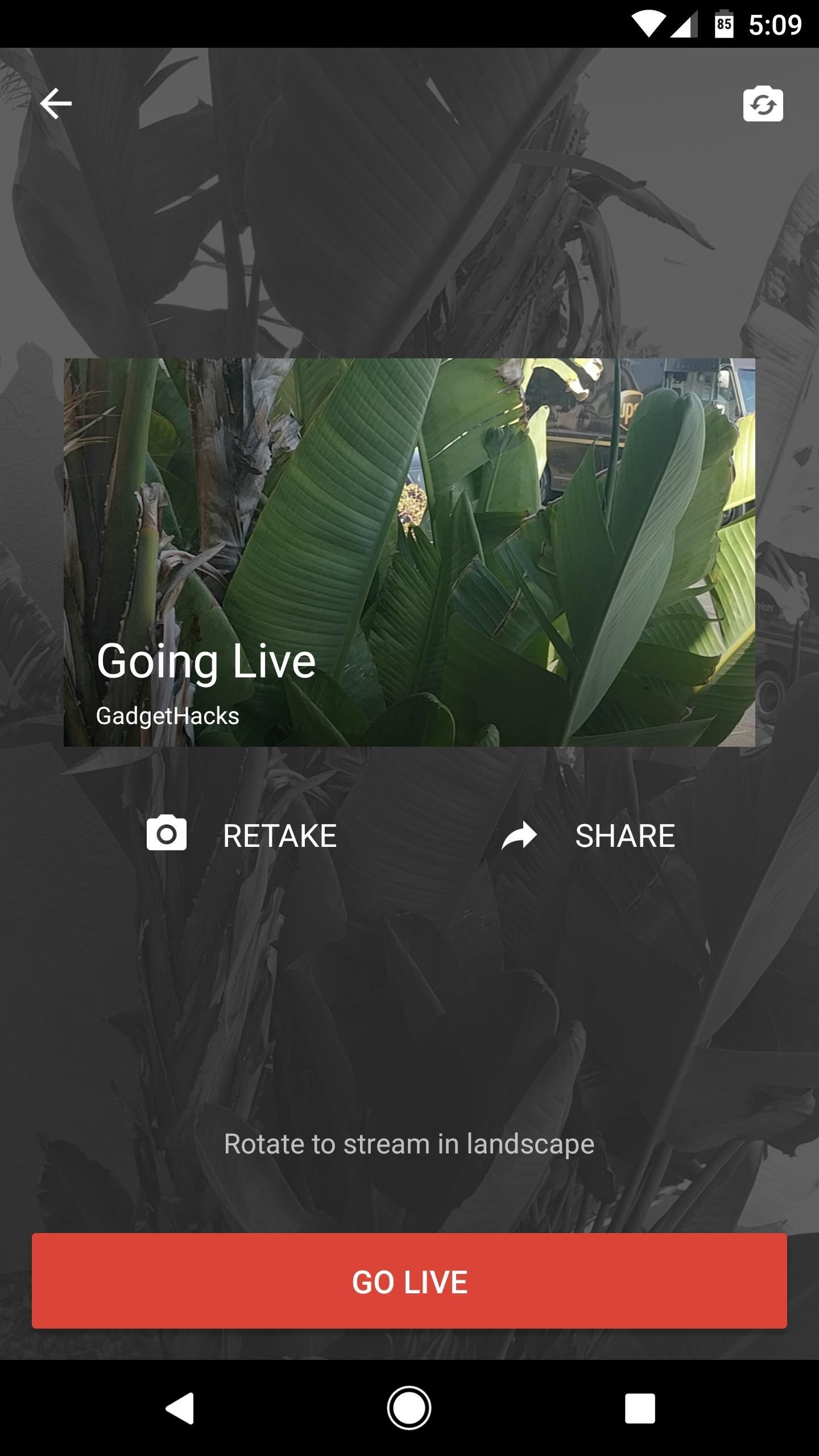 YouTube 101: How to Live Stream from Your Phone