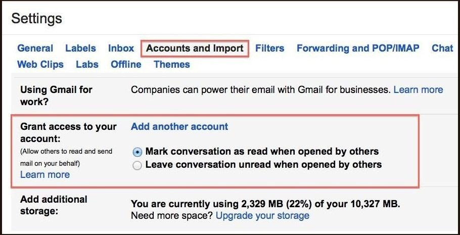 How to Grant Other People Access to Your Gmail Account Without Sharing Your Password