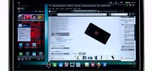 Use the Webtop feature on the Motorola Droid Bionic