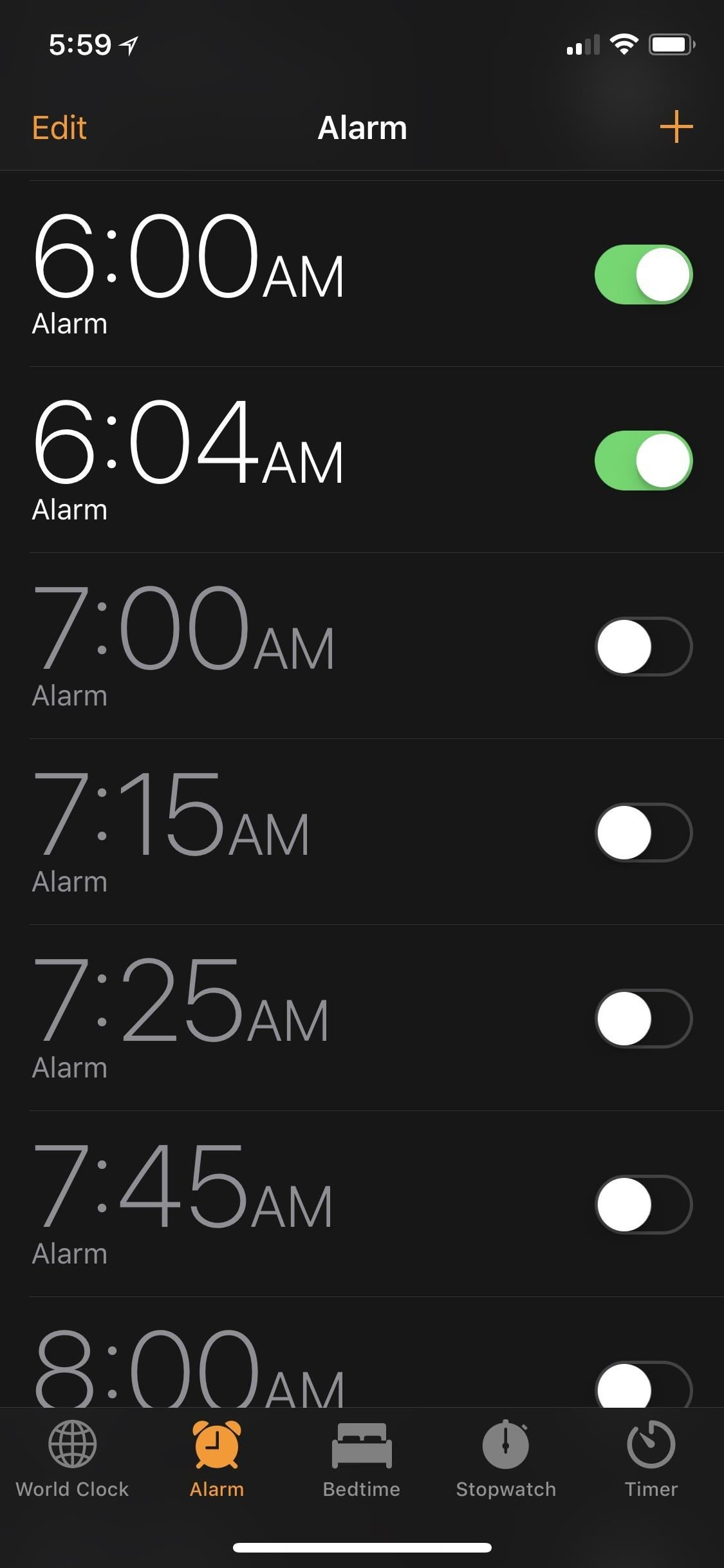 Image result for alarm clock snooze phone