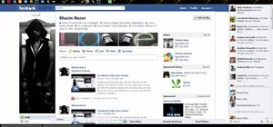 Shorten the news ticker in Facebook