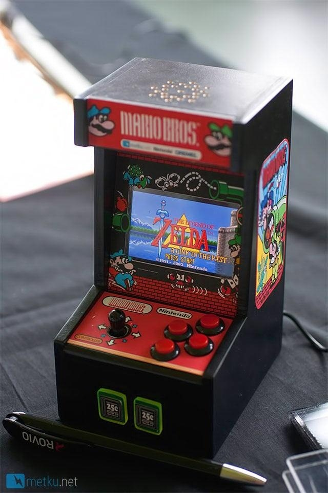 How to Turn a Game Boy Advance into an Old-School Miniature Arcade Cabinet