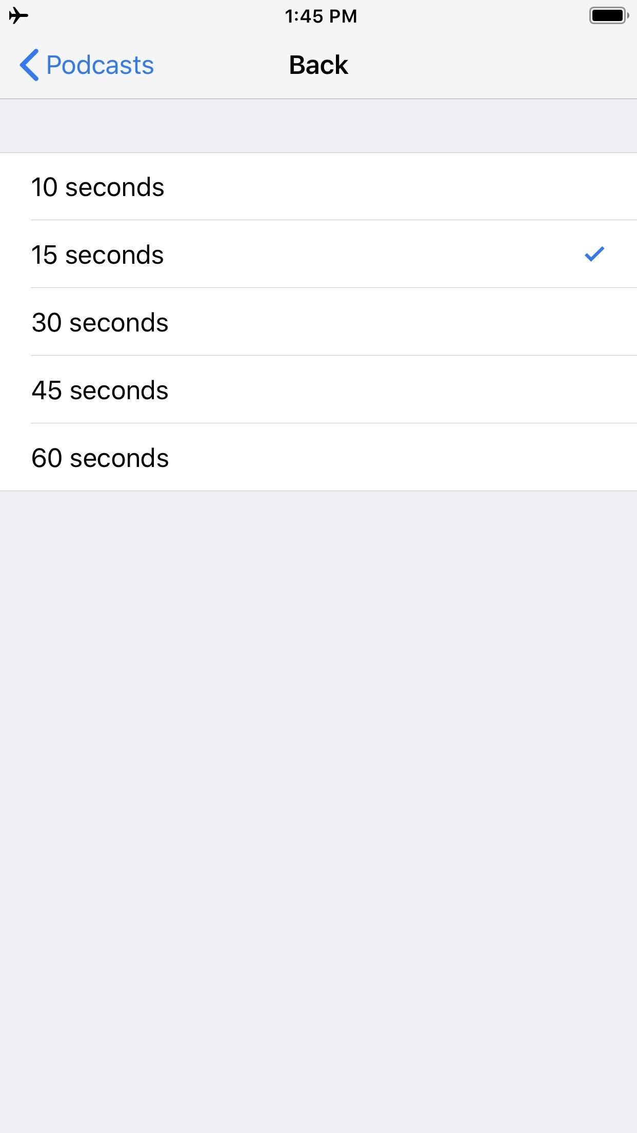 How to Customize Skip Length in Your iPhone's Podcasts App