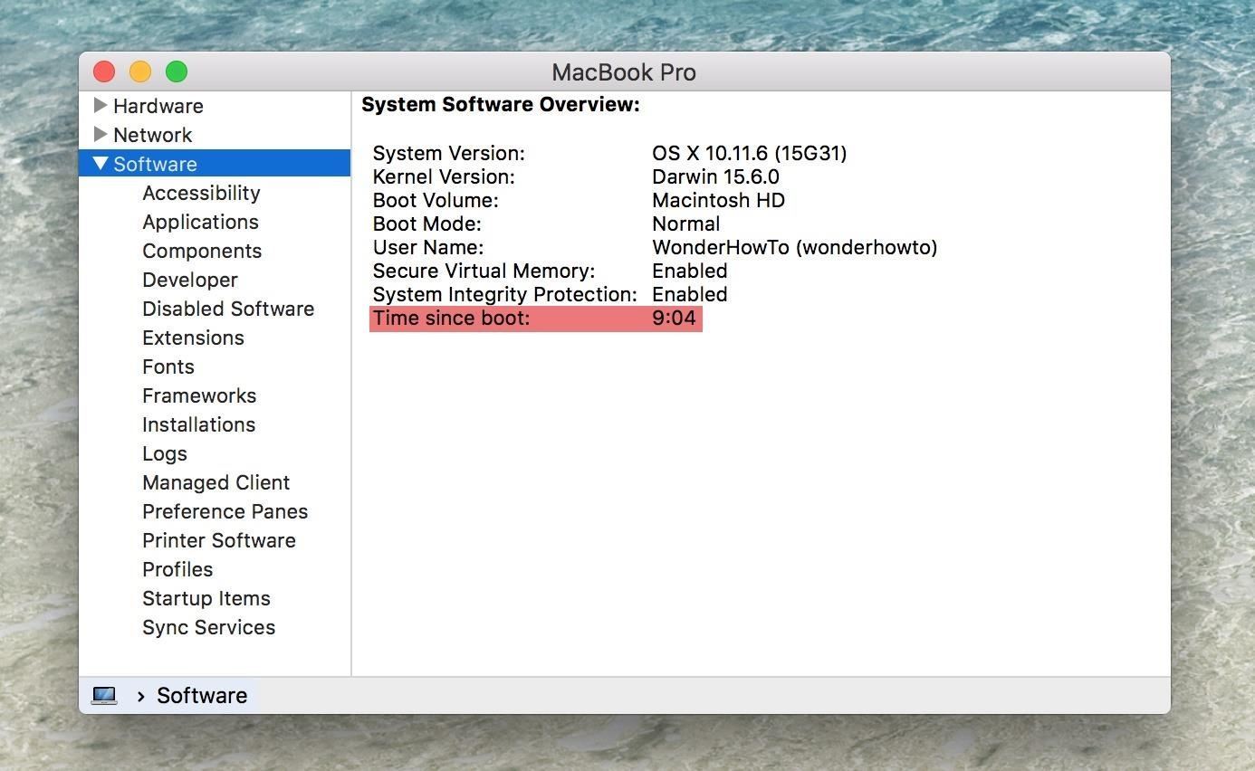 Mac Troubleshooting: How to Find Your Restart, Shutdown & Uptime