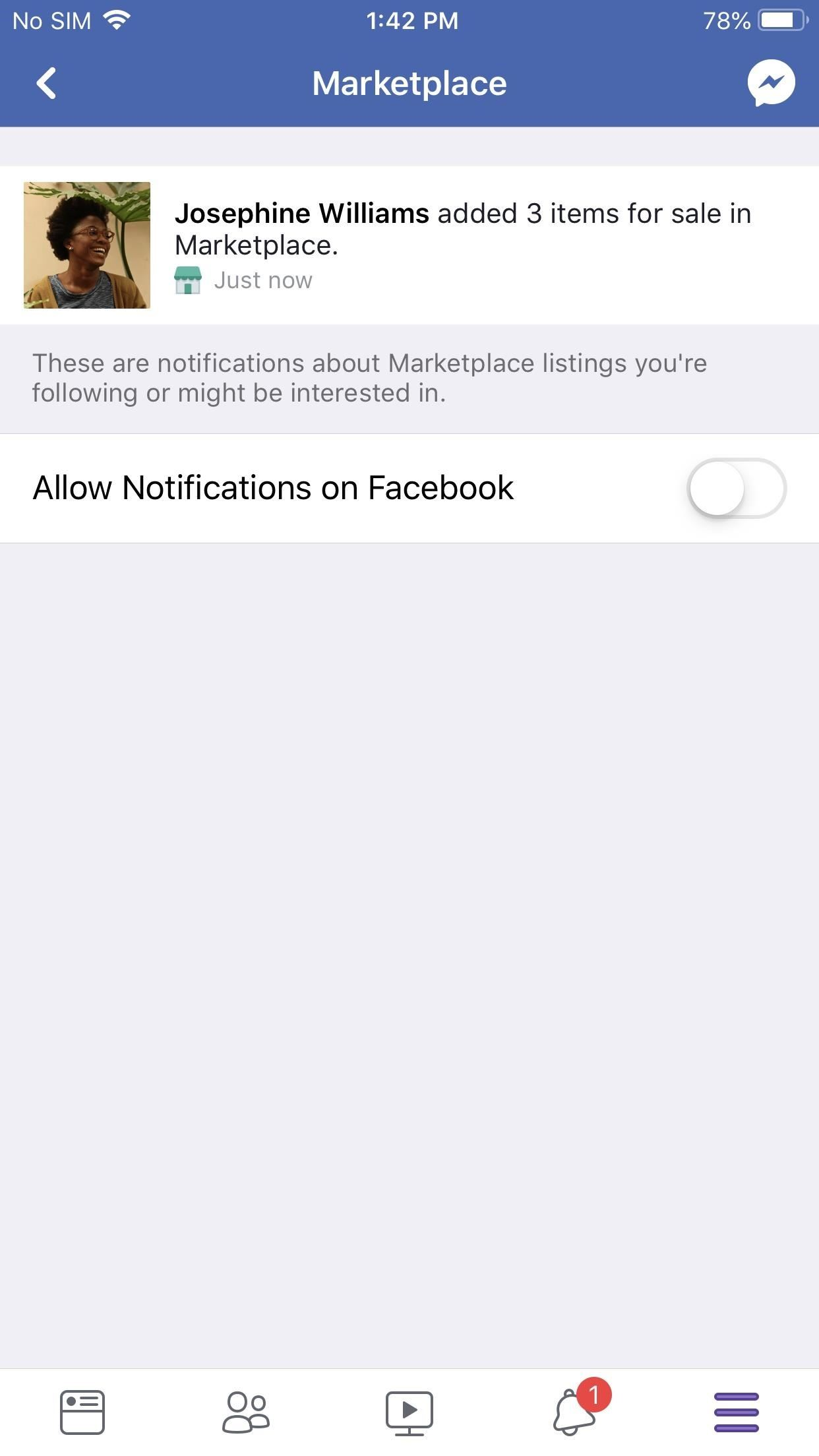 How to Stop Facebook's Annoying Marketplace Notifications
