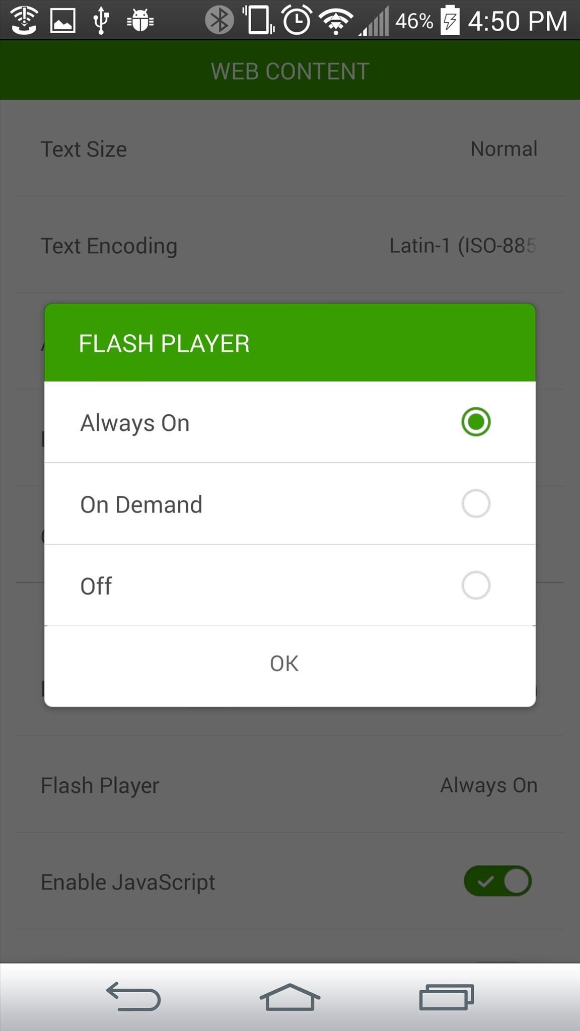 How to Install Adobe Flash Player on Your LG G3 to Play Web