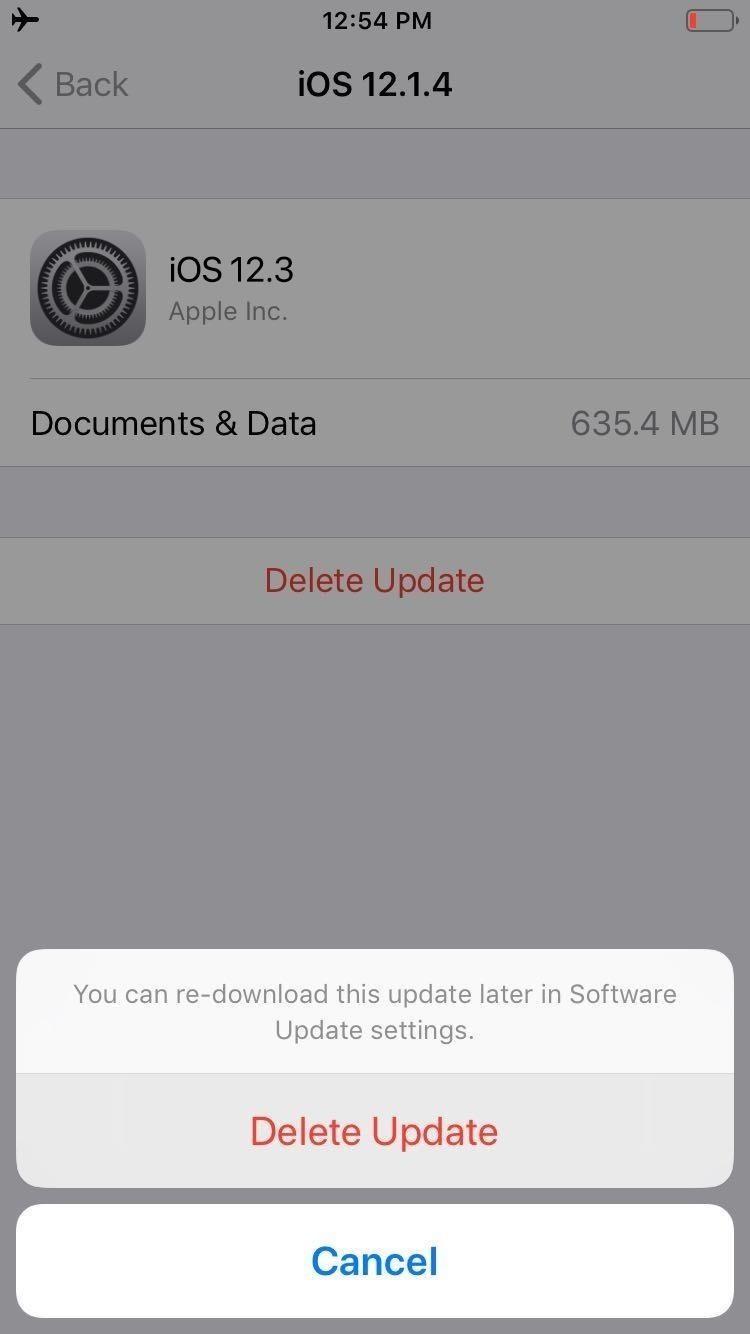 How to Jailbreak iOS 12 to iOS 12 2 on Your iPhone « iOS & iPhone