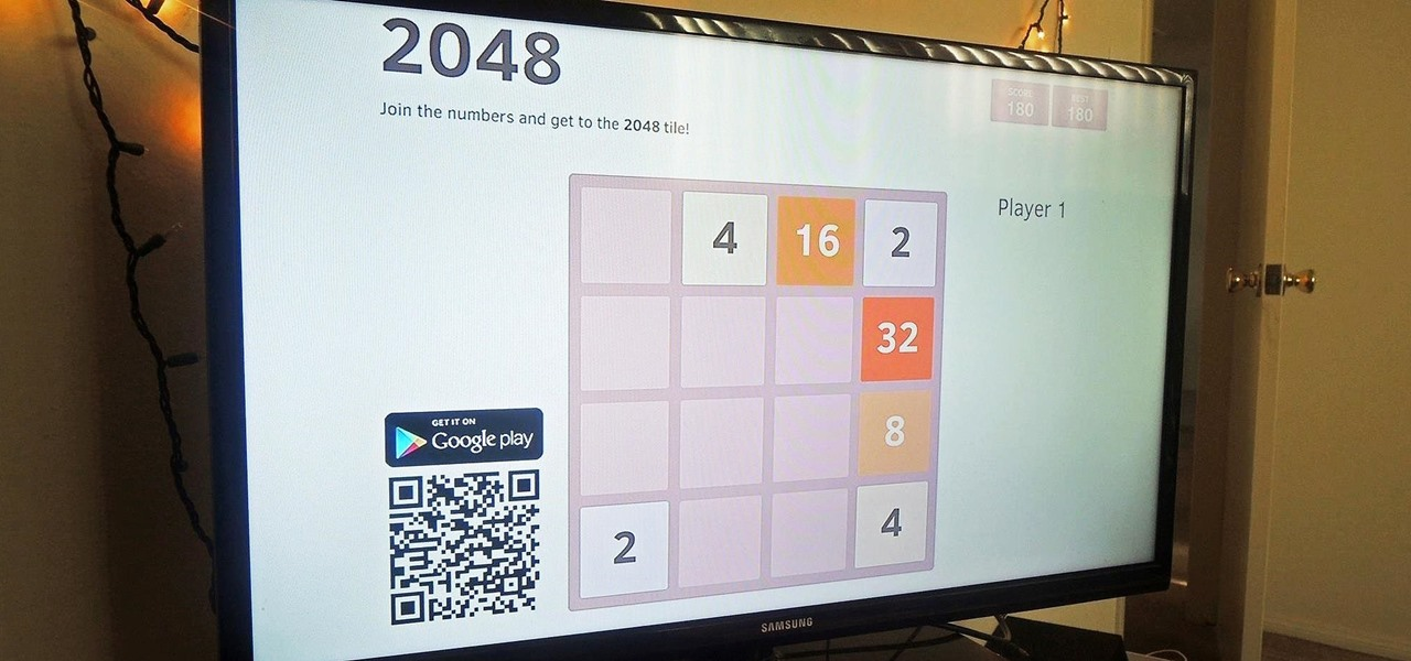 Play the Insanely Addictive 2048 Game for Android on Your TV