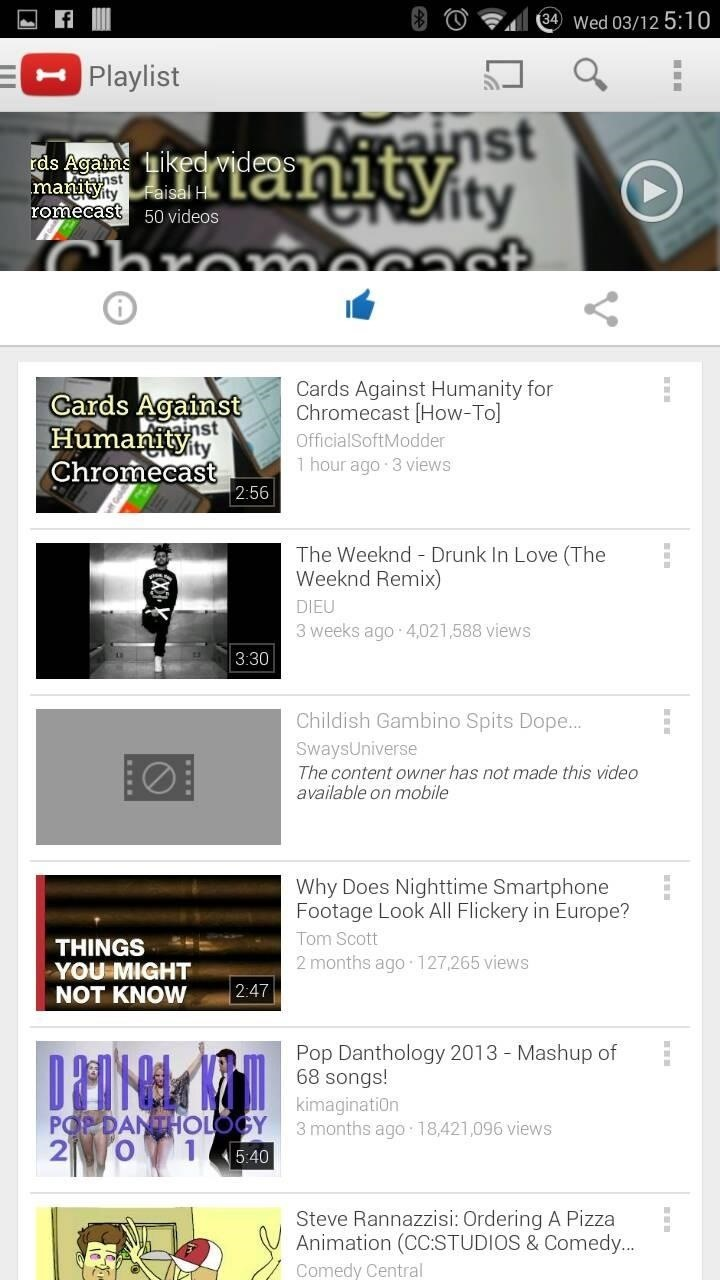 "Google Releases ""Dogfood"" YouTube App to Google Play"