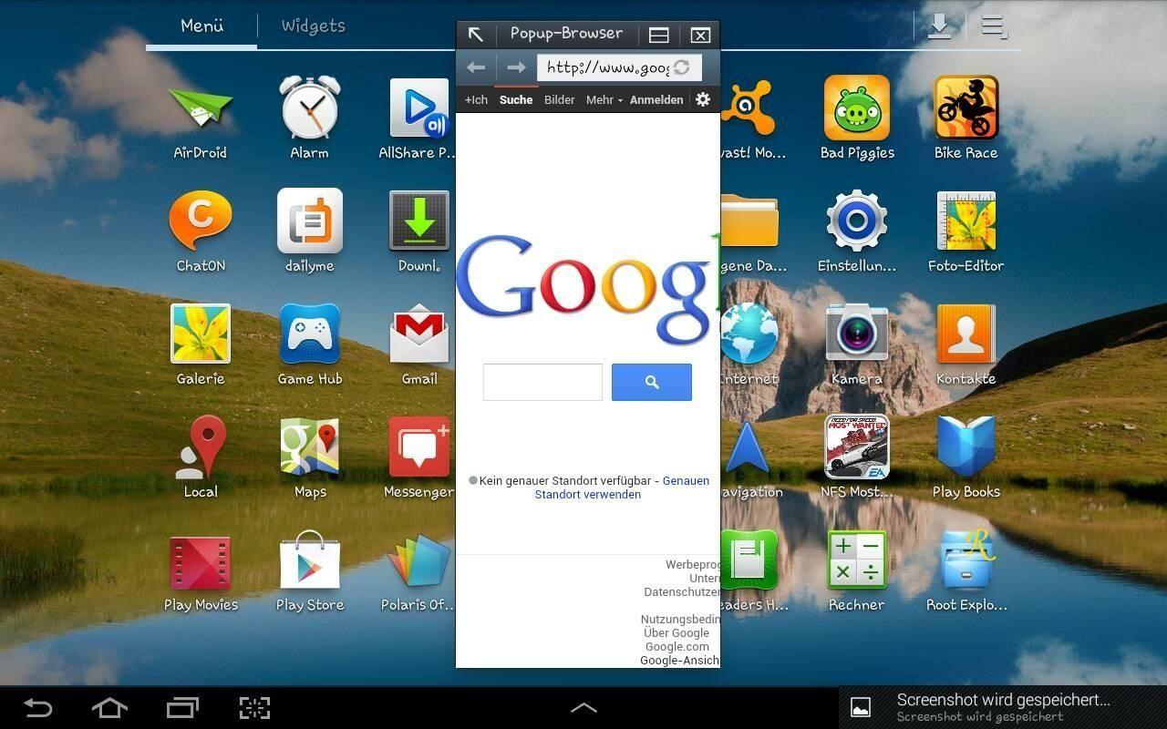 How to Resize the Browser Windows on Your Samsung Galaxy Tab 2