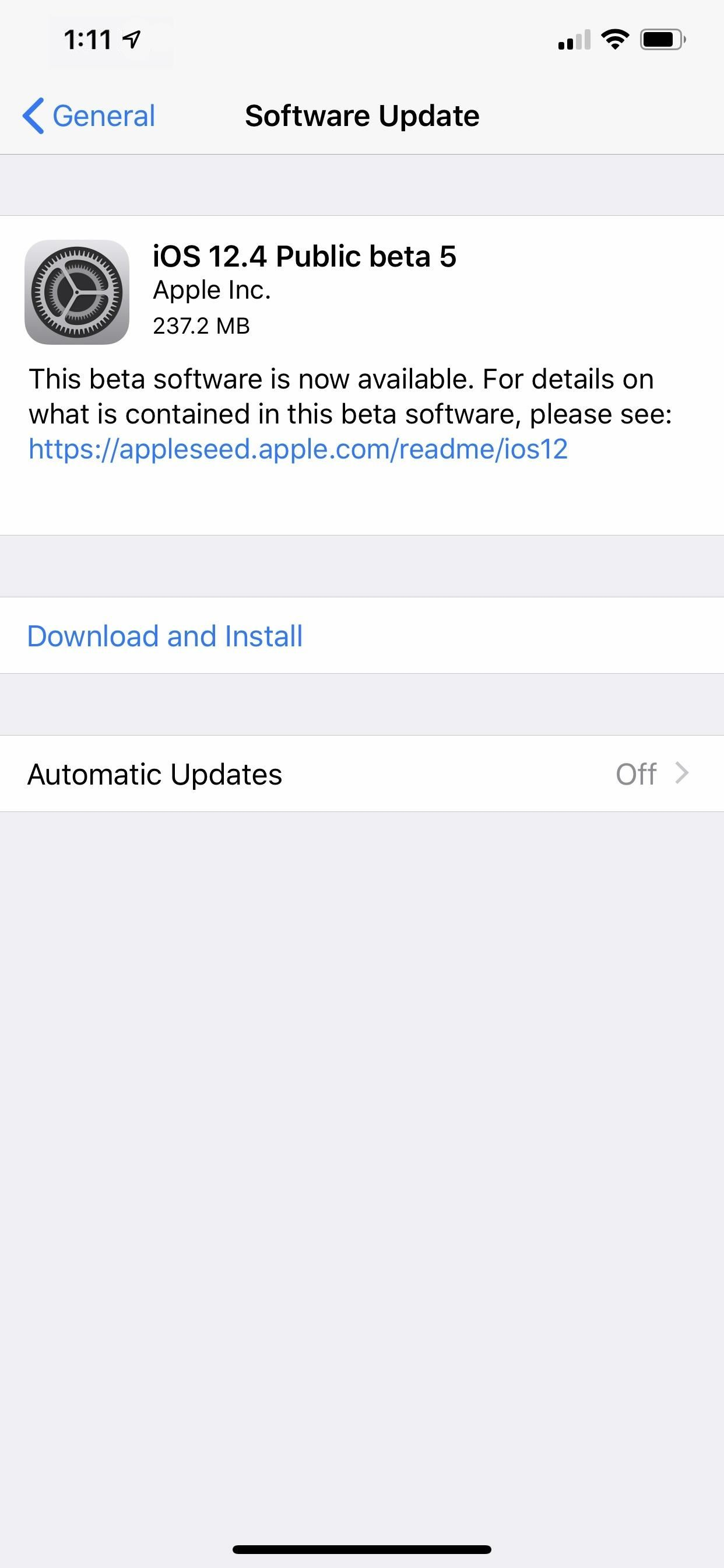 Apple Releases iOS 12.4 Beta 5 for Developers & Public Beta Testers