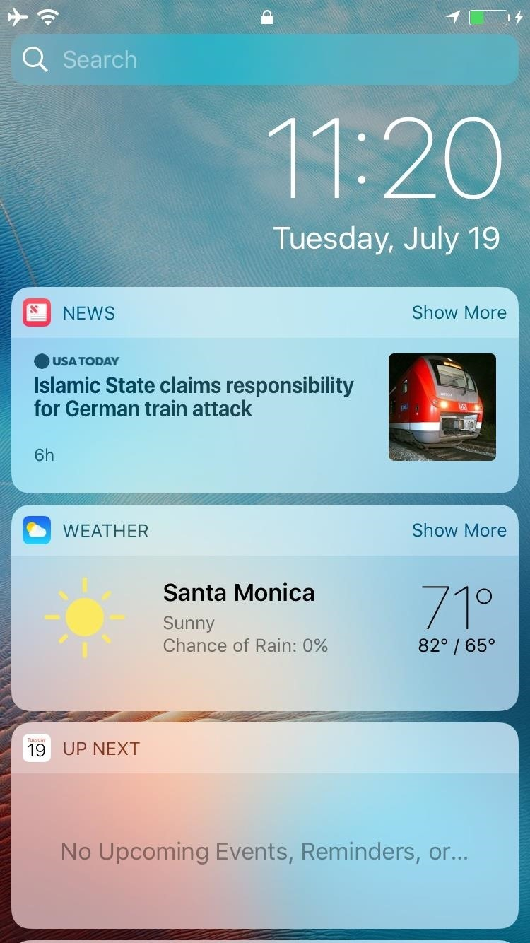 See What's New in iOS 10 Beta 3 for iPhone