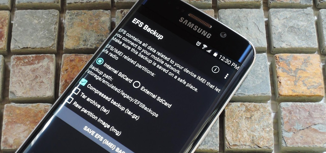 Prevent Bricks by Backing Up the EFS Partition on Your Samsung Galaxy S6
