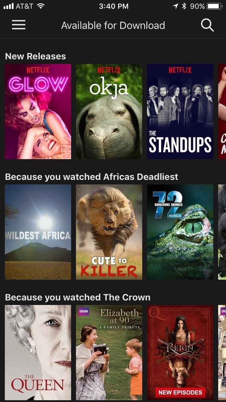 Use Netflix Offline by Downloading Shows & Movies