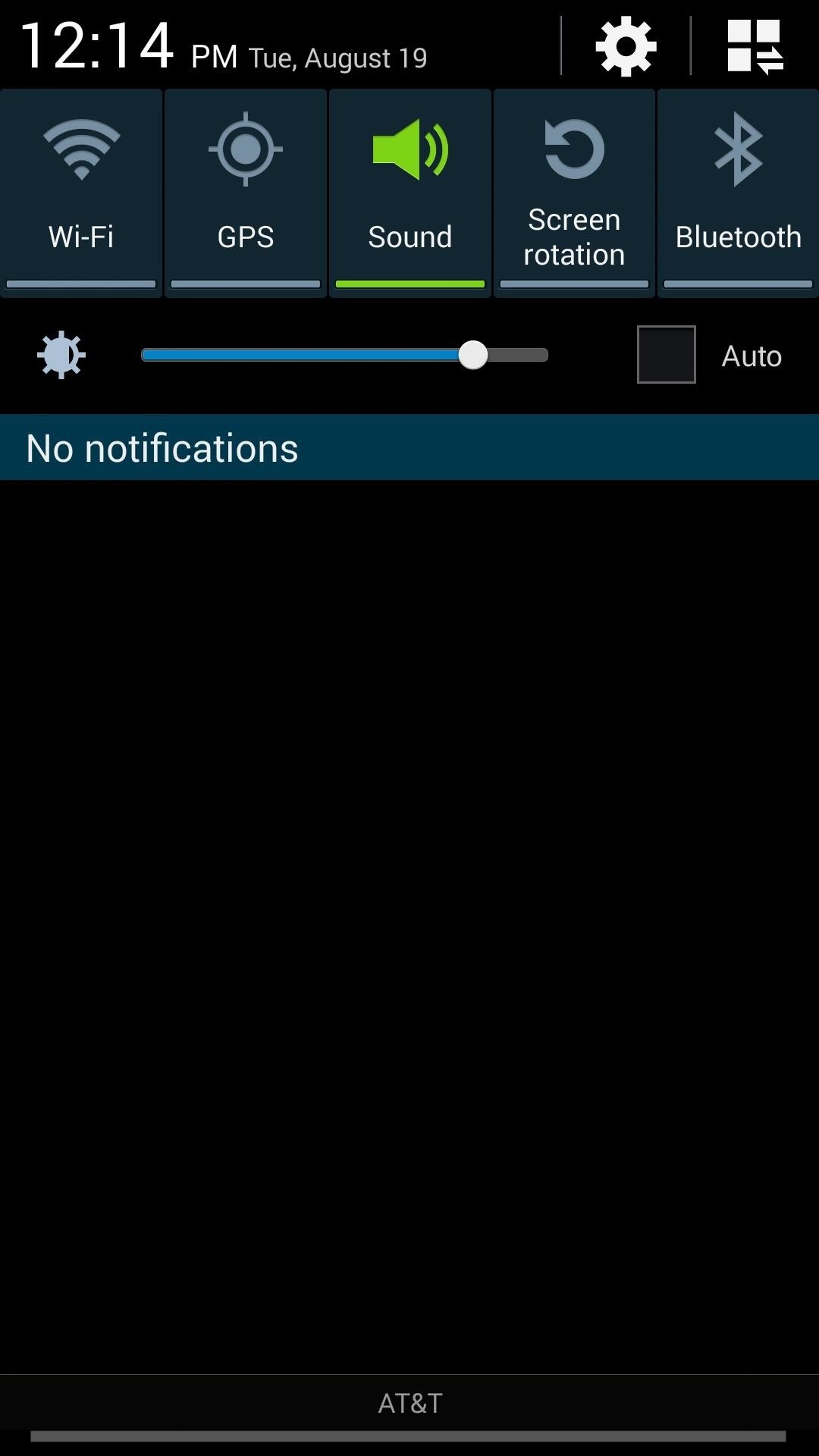 Unlock the Galaxy S5 Notification Panel & Quick Settings on Your Galaxy S4