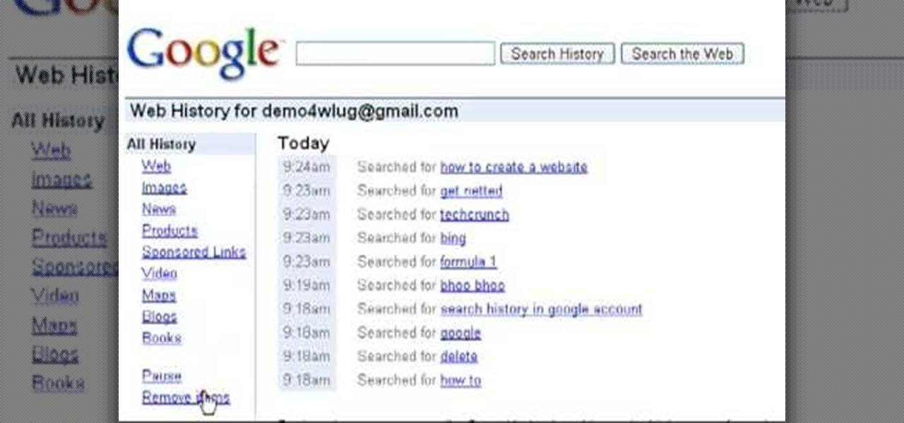 How To Delete The Search History From Your Google Account