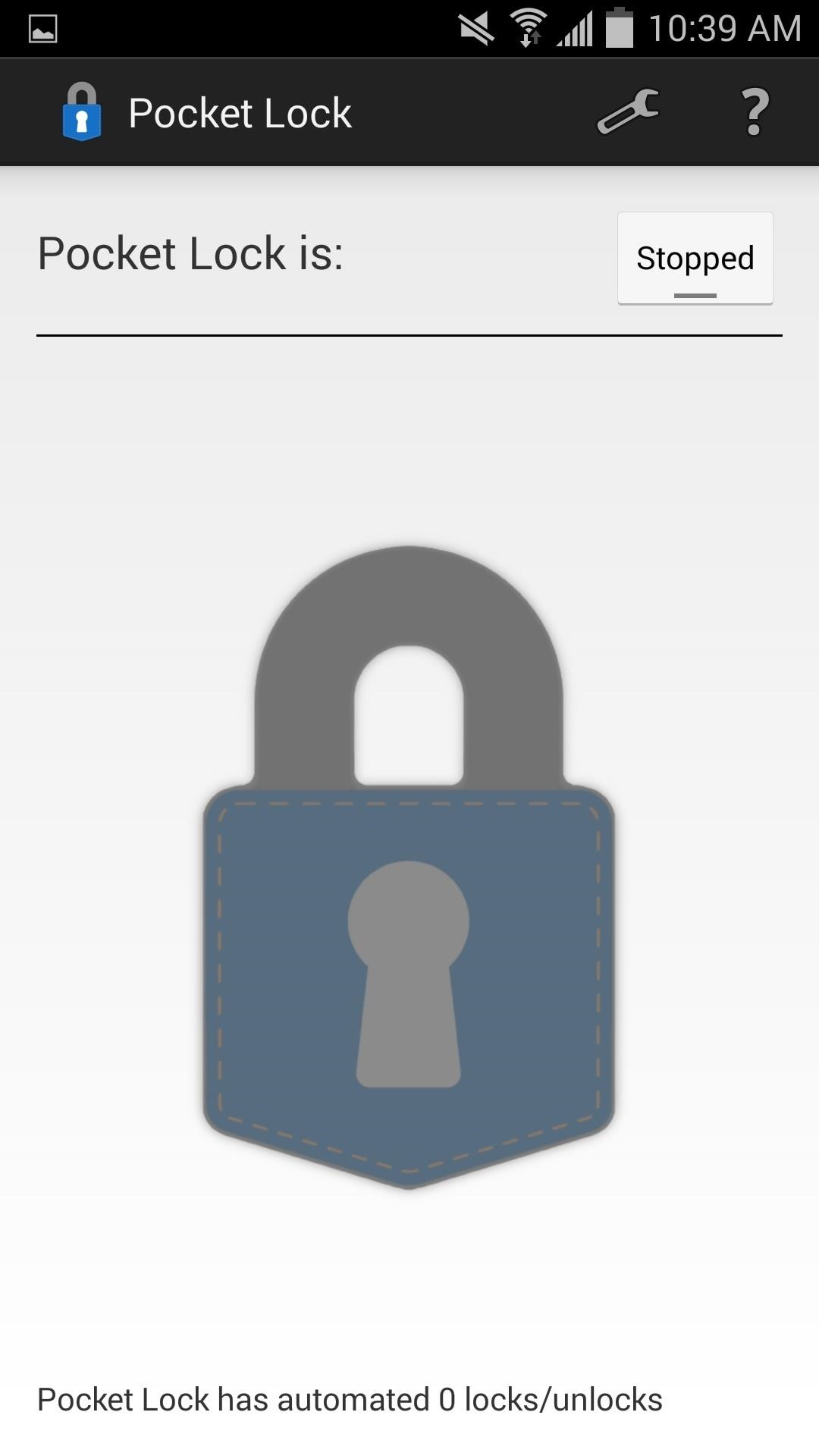 Automatically Lock Unlock Your Android With Your Pocket Samsung