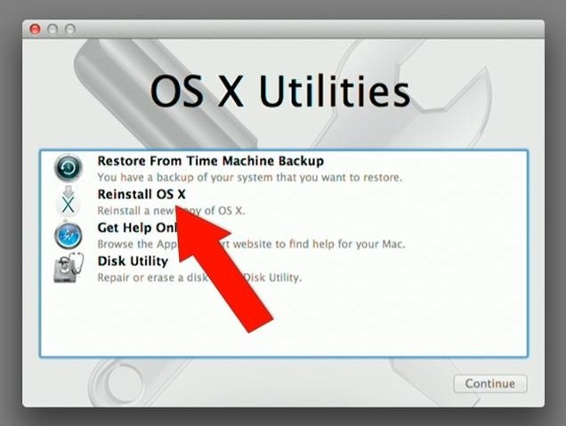How to Reformat Mac OS X Without a Recovery Disc or Drive