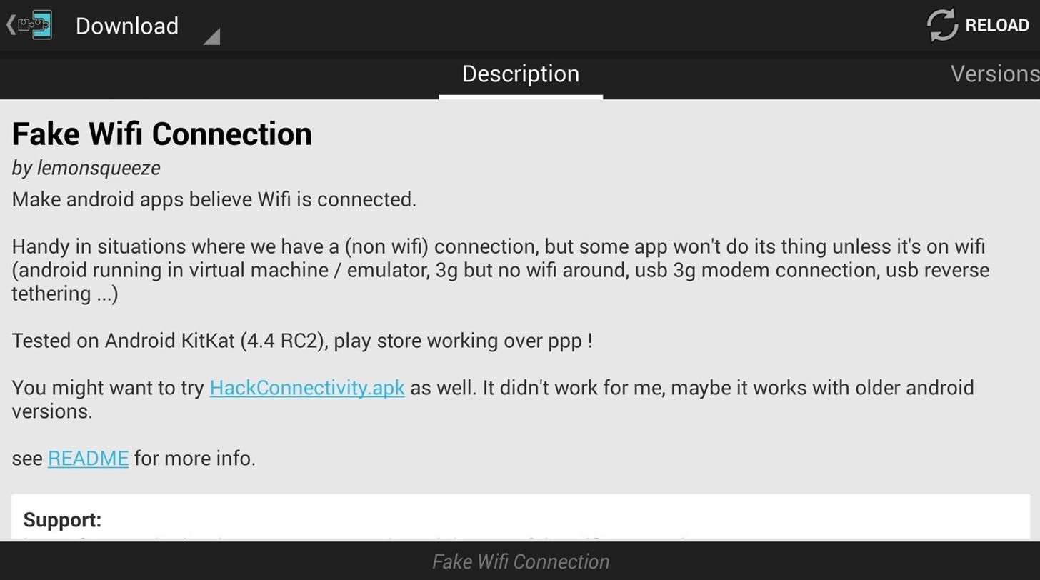How to Trick WiFi-Only Apps into Working with Mobile Data on Your HTC One