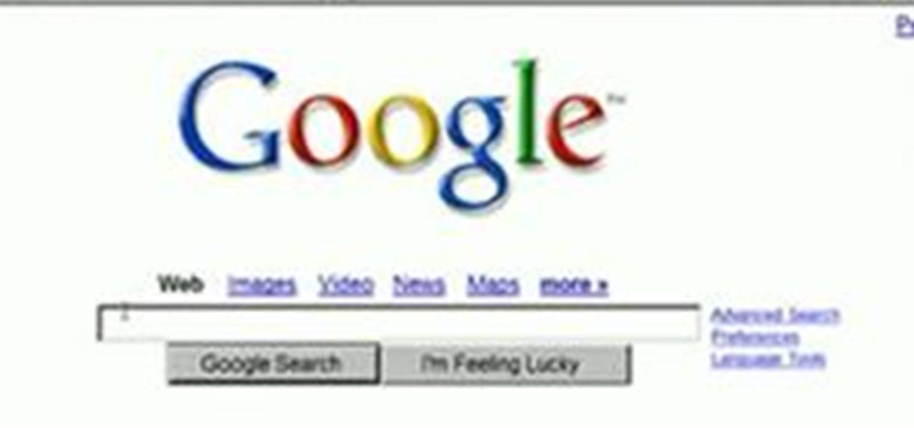 How to hack Google « Internet :: Gadget Hacks