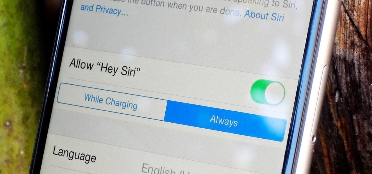 "Use ""Hey, Siri"" on Your iPhone Unplugged & Cord-Free"