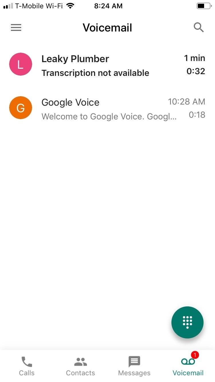 The Trick To Recording Phone Calls Using Google Voice On Your Iphone Simple Telephone Recorder Conversations Just Tap Recent Call Within Voicemail Page Expand It Then Play Button