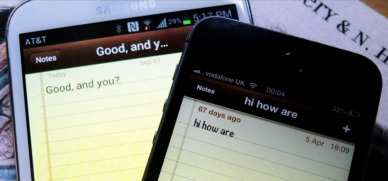 Take iOS-Style Notes on Your Samsung Galaxy Note 2