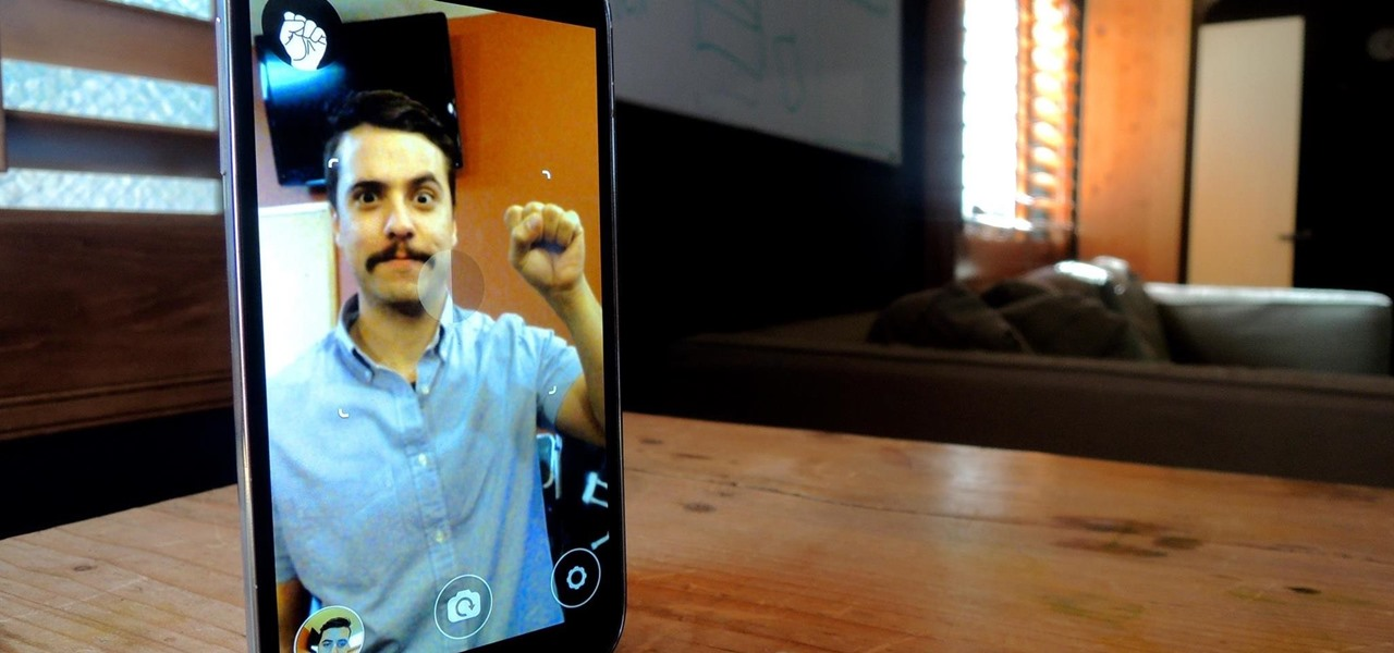 Use Hand Gestures to Take Selfies More Easily on Android