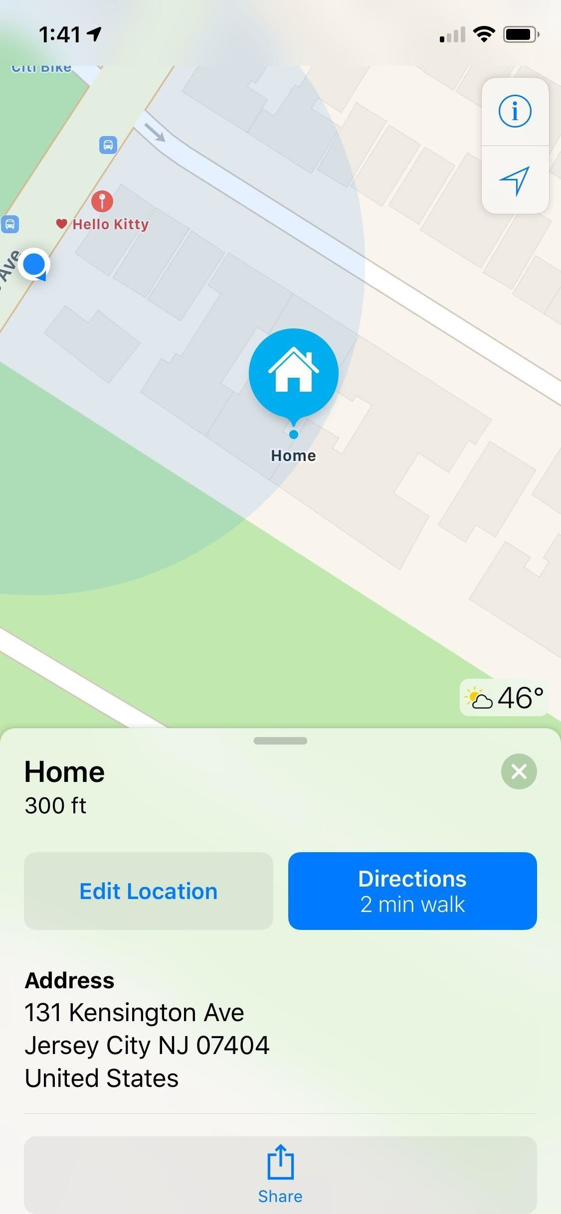 Setting or Changing Your Home and Work Addresses on Apple Maps