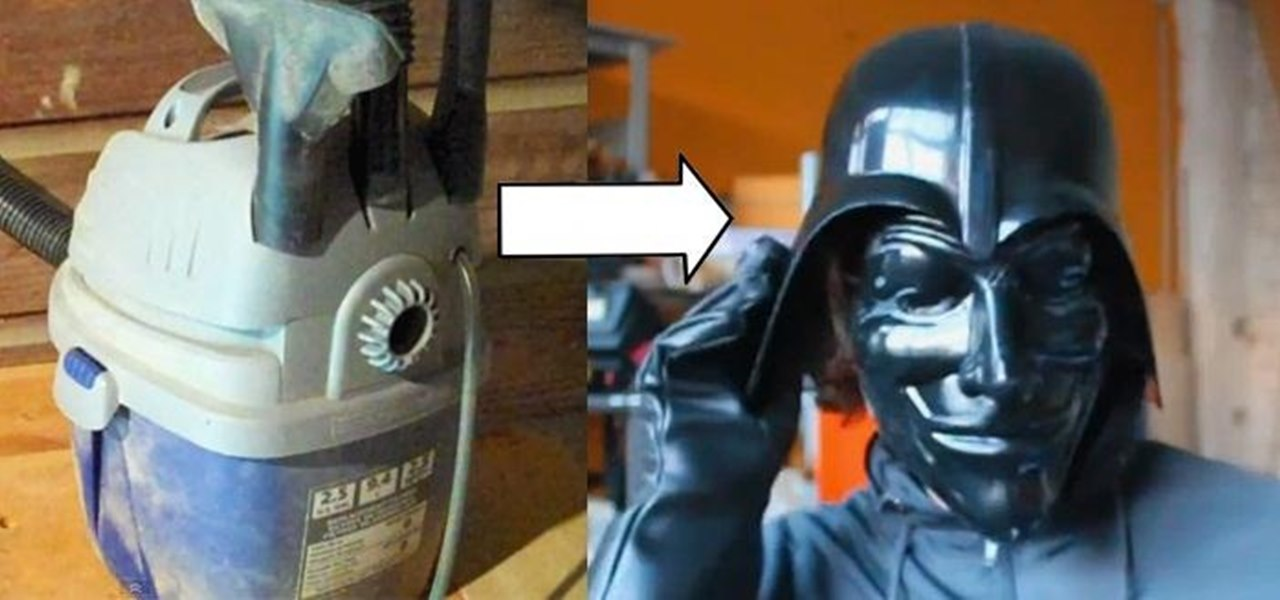 Make Your Own Halloween Masks By Modding Your Shop Vac Into