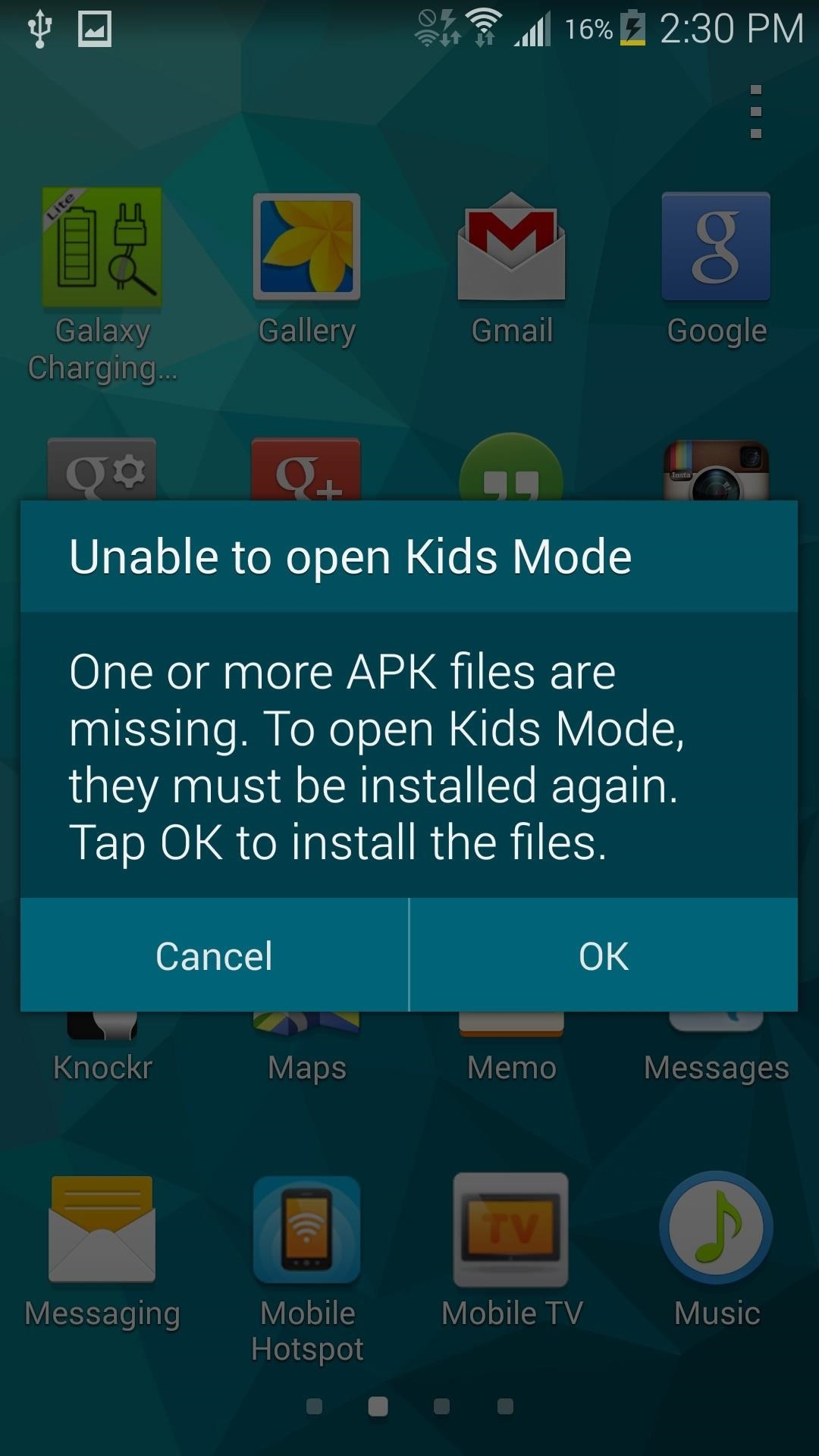 How to Enable Kids Mode on Your Galaxy S5 « Samsung Galaxy